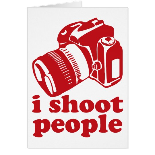 I Shoot People - Red Card