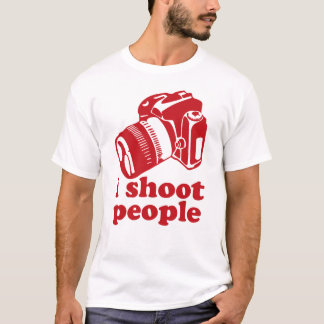 I Shoot People - Red T-Shirt