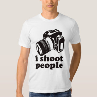I Shoot People! Shirt