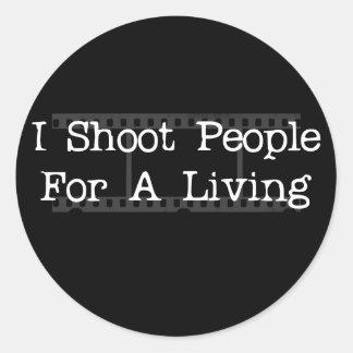 I Shoot People.. sticker