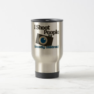 I Shoot People Travel Mug