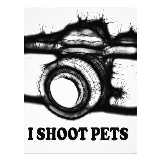 I shoot pets letterhead