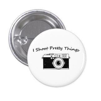 I Shoot Pretty Things Photography Button