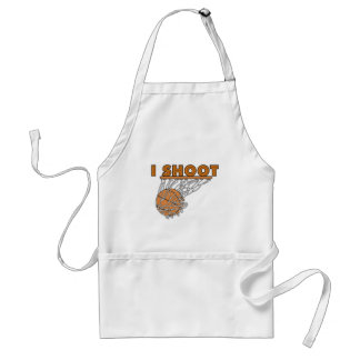 I Shoot T-shirts and Gifts Adult Apron