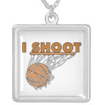 I Shoot T-shirts and Gifts Custom Necklace