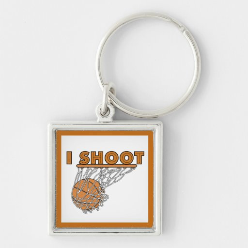 I Shoot T-shirts and Gifts Key Chain