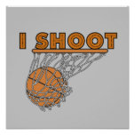 I Shoot T-shirts and Gifts Posters