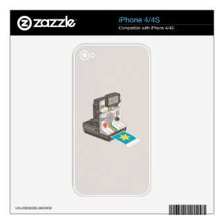 I Shoot The Sheriff Decals For iPhone 4S