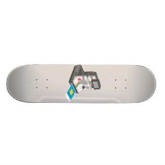 I Shoot The Sheriff Skateboard Deck