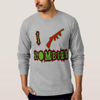 I Shoot Zombies! Funny Zombie Tshirt