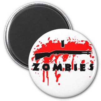 I shoot zombies magnets