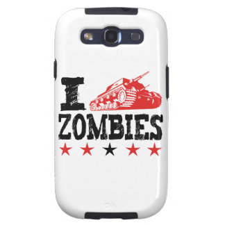 I Shoot Zombies Using Tank Galaxy SIII Covers