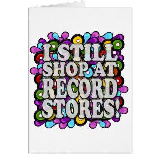 I shop at Record Stores Card