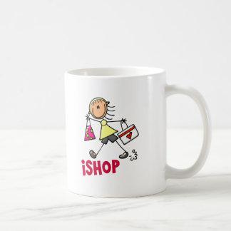 I SHOP Stick Figure T-Shirts Gifts Mug