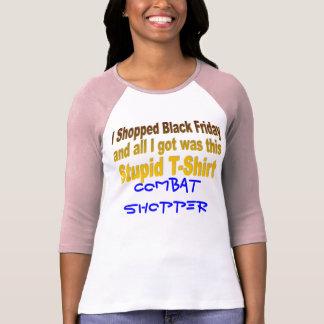 I Shopped Black Friday T Shirt