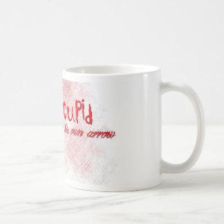 I Shot Cupid Classic White Coffee Mug