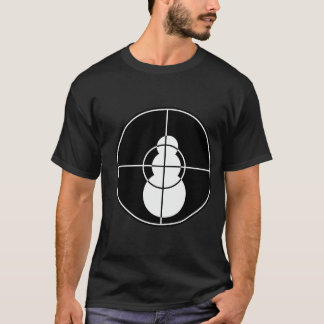 I Shot That Snowman(black) T-Shirt