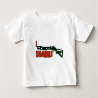 I SHOTGUN ZOMBIES BABY T-Shirt