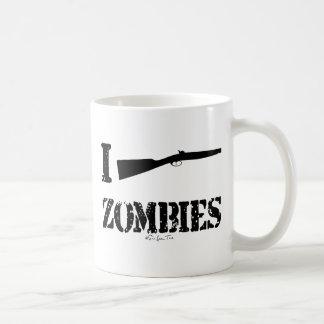 I Shotgun Zombies Classic White Coffee Mug