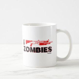 I Shotgun Zombies - Gun Shoot Kill Mutant Zomb Classic White Coffee Mug