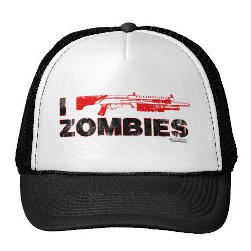 I Shotgun Zombies - Gun Shoot Kill Mutant Zomb Hat