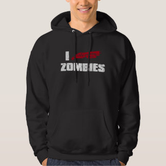 i shotgun zombies hooded pullover