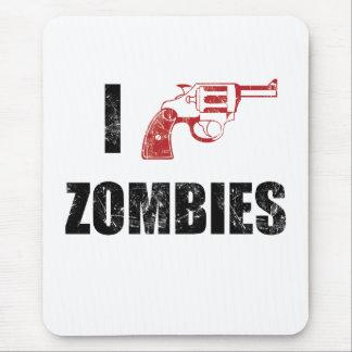 I Shotgun Zombies/ I Heart Zombies mouse mat Mouse Pad
