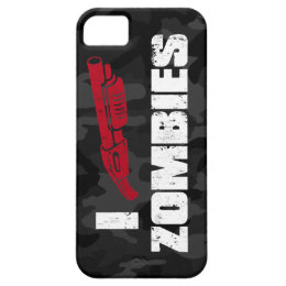 i shotgun zombies iPhone SE/5/5s case