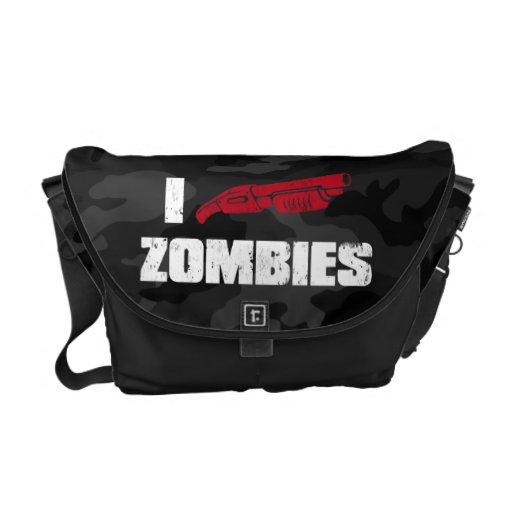 i shotgun zombies messenger bag