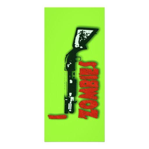 I SHOTGUN ZOMBIES CUSTOM RACK CARDS