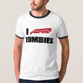 i shotgun zombies shirt