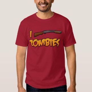 I Shotgun Zombies! T Shirts