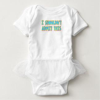 I shouldn't admit this baby bodysuit