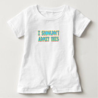 I shouldn't admit this baby romper