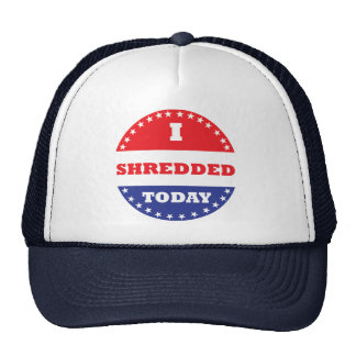 I Shredded Today Trucker Hat