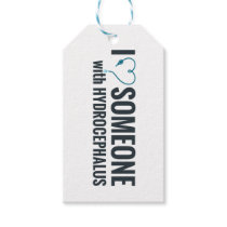 I Shunt Heart Someone with Hydrocephalus Gift Tags