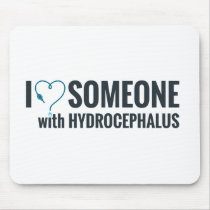 I Shunt Heart Someone with Hydrocephalus Mouse Pad