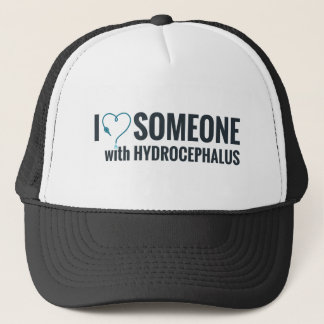 I Shunt Heart Someone with Hydrocephalus Trucker Hat