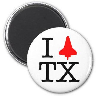 I Shuttle TX Refrigerator Magnet