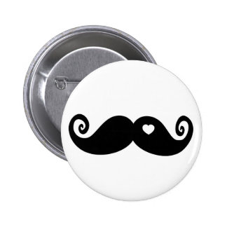 I simply love Moustache Button