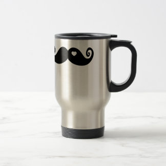 I simply love Moustache 15 Oz Stainless Steel Travel Mug