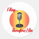 I Sing 2007 Sticker
