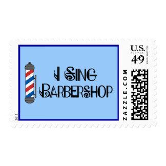 I Sing Barbershop Gift Postage