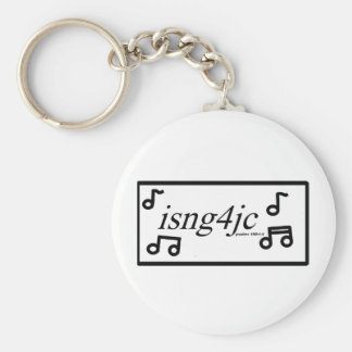 I Sing for Jesus Key Chain