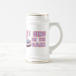 I Sing On The Cake Beer Stein