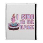 I Sing On The Cake iPad Folio Covers