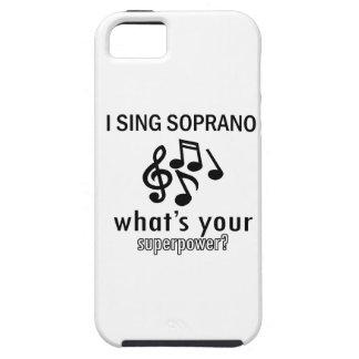 I sing Soprano iPhone 5 Case