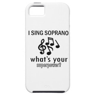 I sing Soprano iPhone SE/5/5s Case