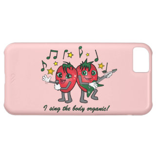 I Sing the Body Organic Jammin Strawberries Cover For iPhone 5C