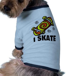 I Skate Pet Tshirt